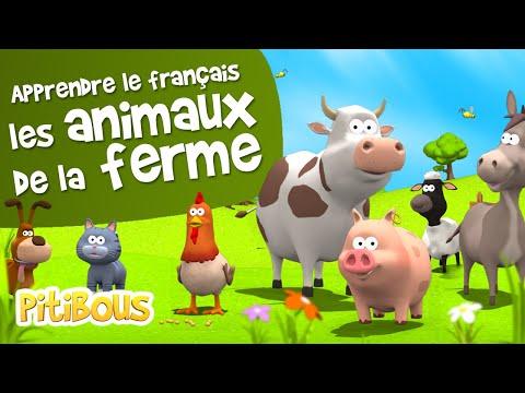 Apprendre les animaux de la ferme - Pitibous