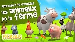 Apprendre les animaux de la ferme - Les Pitibous