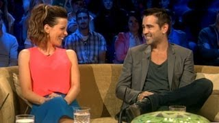 Colin Farrell on his Fight Scenes with Kate Beckinsale
