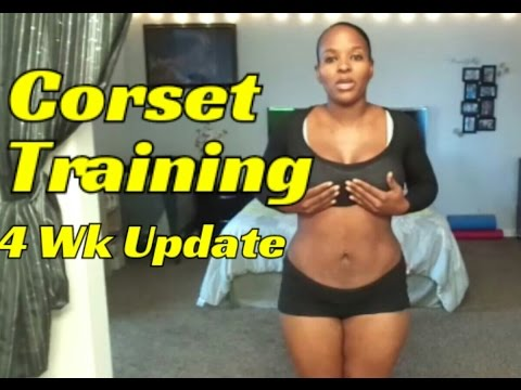 Corset Training/Waist Training After Baby ( Week 4 Update Belly Shot, Q&A, My Corset Collection)