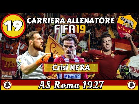 FIFA 19 Carriera Allenatore Roma ep.19: CRISI NERA!