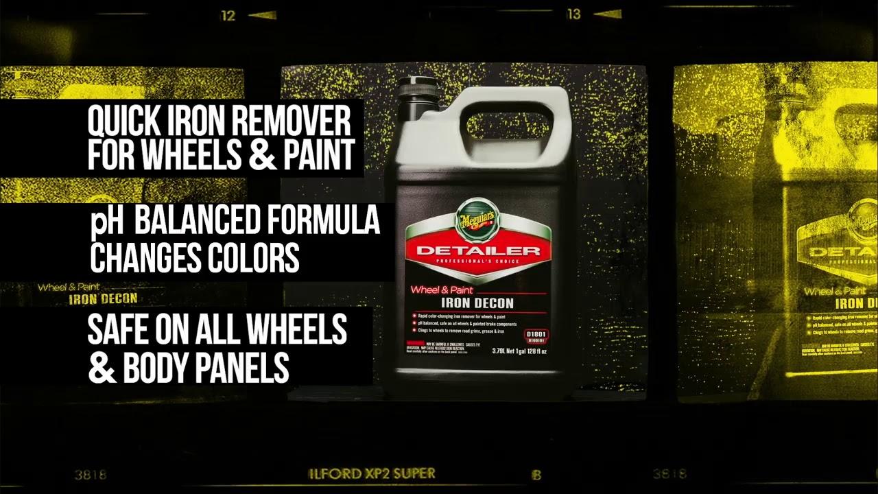 Meguiar S D1801 Wheel Paint Iron Decon Pro Strength Iron Remover