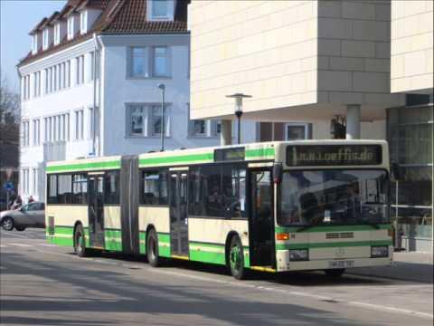 [Sound] Bus Mercedes O 405 GN2 (Wagennr. 58) der Kraftverkehrsgesellschaft Hameln mbH