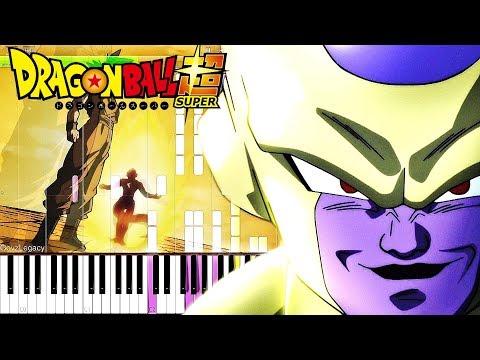 Dragon Ball Super OST - Golden Frieza | Piano Tutorial