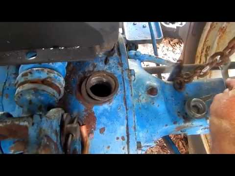 ford 2000 tractor hydraulic lift   rear axle servicing youtube 801 Powermaster Tractor Wiring Diagram Ford Tractor 12V Wiring Diagram