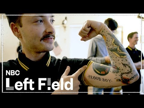 Far-Right Proud Boys Cultivate Male Angst | NBC Left Field