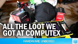Unbagging Bags: The Cool Free Stuff We Got at Computex