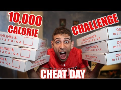(MADE ME SICK) 10,000 CALORIE CHEAT MEAL CHALLENGE IN ONE MEAL | EPIC CHEAT MEAL THAT ENDED ME