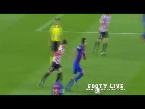 Lionel Messi pun Bertekuk Lutut di Kaki Aymeric Laporte