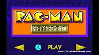 Classic Game Room - PAC-MAN COLLECTION review for Game Boy Advance