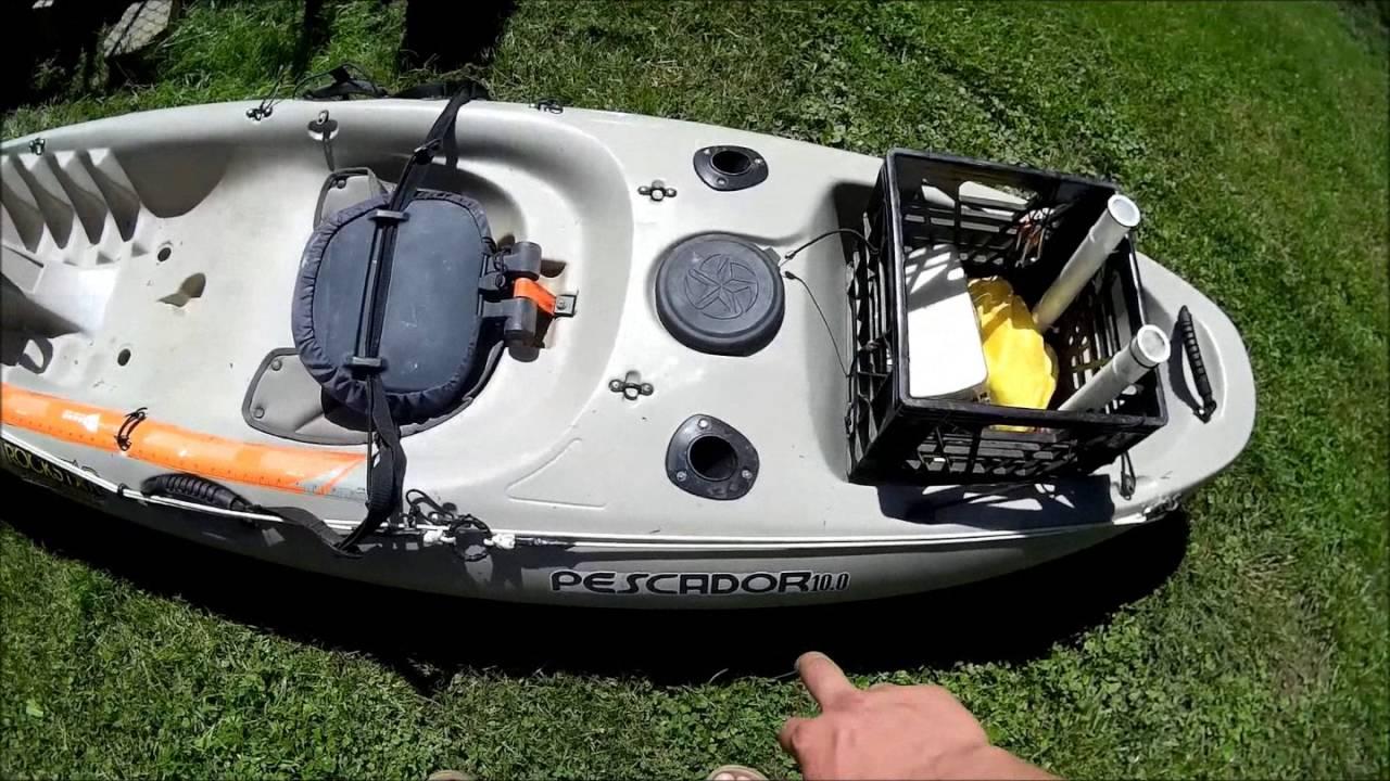 DIY Kayak Mods