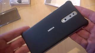 Video Review - The Nokia CC 801 SOFT TOUCH CASE for the Nokia 8