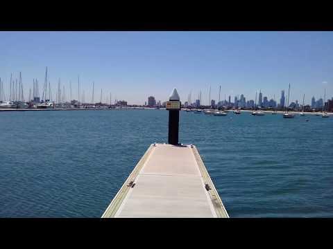 Melbourne Australia Marina St Kilda VIC.