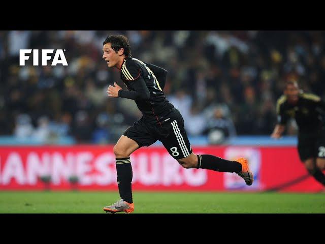Mesut Ozil goal vs Ghana | ALL THE ANGLES | 2010 FIFA World Cup