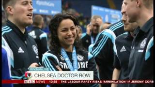 BBC Victoria Derbyshire Show  RR on Eva Carneiro