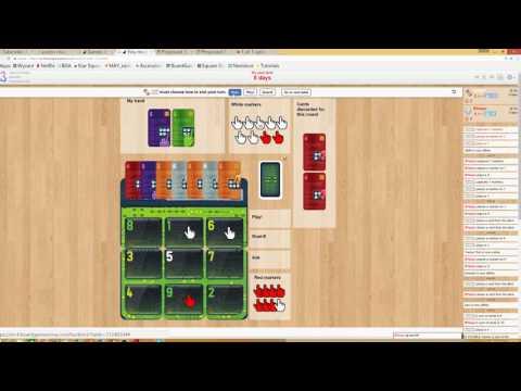 Hack Trick explanation of Gameplay Board Game Arena turtler7