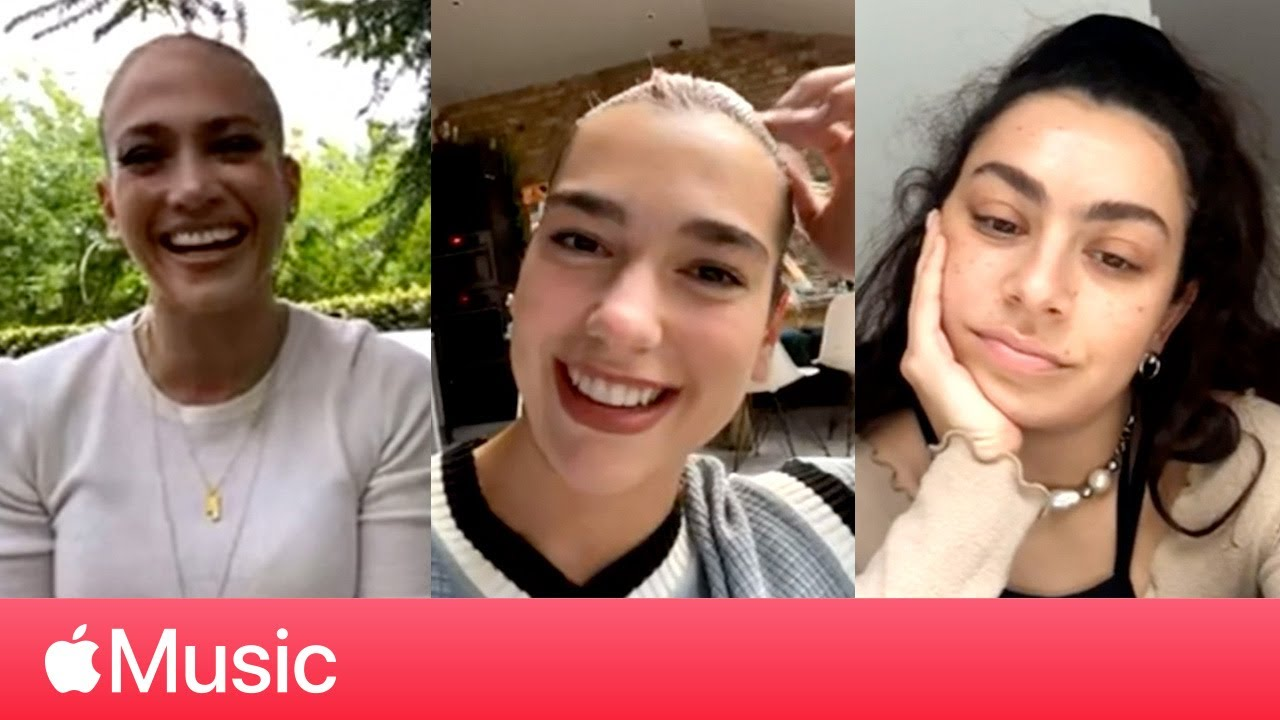 Jennifer Lopez, Dua Lipa, and Charli XCX at Home | Apple Music
