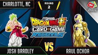 Dragon Ball Super Card Game Gameplay [DBS TCG] Charlotte Regional Round 2