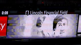 Rocky Balboa Intro Video Played at all 2017 Philadelphia Eagles Home Games!