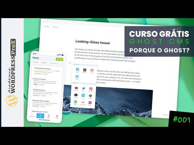 Conheça o Ghost CMS Mais Rápido Que o Wordpress - Curso CMS Ghost No Servidor Digital Ocean |#01