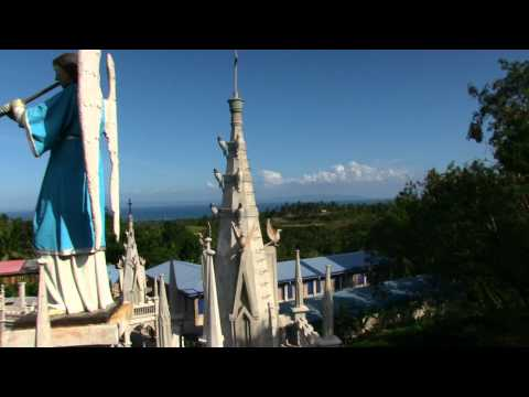 RABBI JEW BARKER SKY WATCH IN THE PHILIPPINES & OBAMA MAN AT SIMALA CHURCH CEBU PHILIPPINES 2014