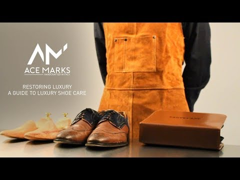 Ace Marks Shoe Care Guide