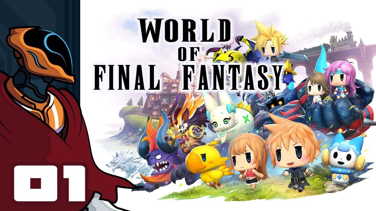 Let s Play World of Final Fantasy - PS4 Gameplay Part 1 - Gotta Catch Em All!  Final Fantasy  - YouTube c0cb57e6f9