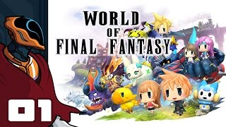 Let's Play World of Final Fantasy - PS4 Gameplay Part 1 - Gotta Catch Em All! Final Fantasy?