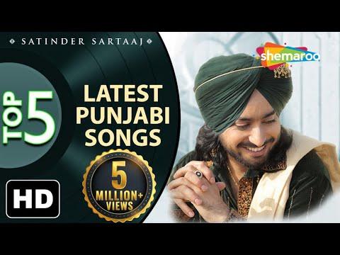Latest top 5 Punjabi Songs by Satinder Sartaaj - New Punjabi Songs - Best of Sartaaj 2020 - Shemaroo Punjabi