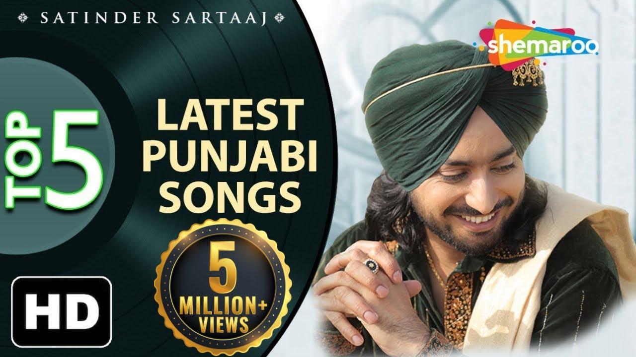 Download Latest top 5 Punjabi Songs by Satinder Sartaaj - New Punjabi Songs - Best of Sartaaj 2020