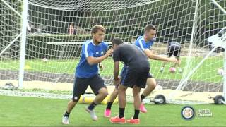 ALLENAMENTO INTER REAL AUDIO 09 09 2015