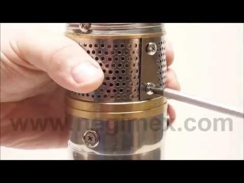 Negimex - démontage de la grille d'aspiration + test de rotation (pompe immergée série Y01) from YouTube · Duration:  1 minutes 19 seconds