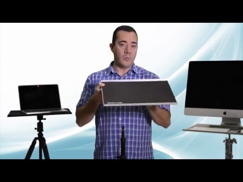 Tether Table Aero - A portable table, laptop stand, and tethering workstation for photographers
