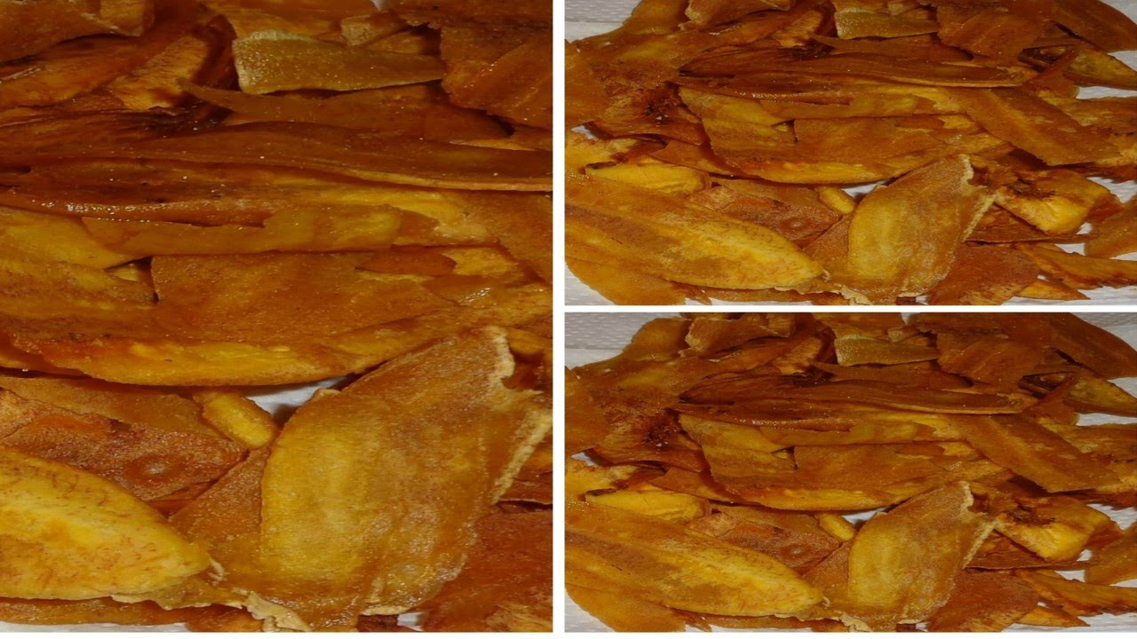 How To Make Crispy Plantain Chips Plantain Chips Health Food How To Make Plantains