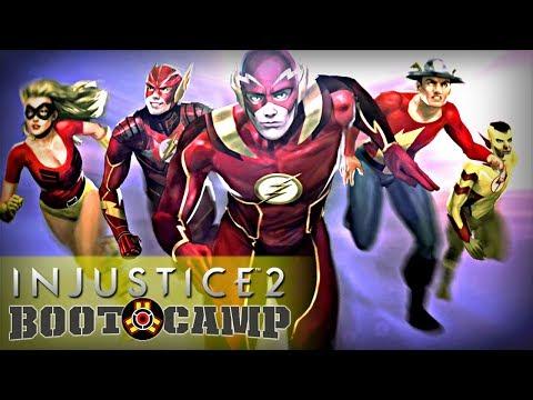 Injustice 2 - Boot Camp Episode 3 Part 1: The Flash (Arcade Ladder)