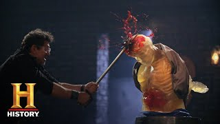 Forged in Fire: SPIKED MACE SMASHES THE FINAL ROUND (Season 6) | History