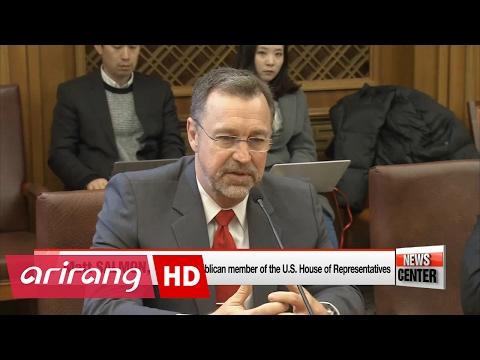 U.S. delegation visiting National Assembly reaffirms S. Korea-U.S. alliance and stresses...