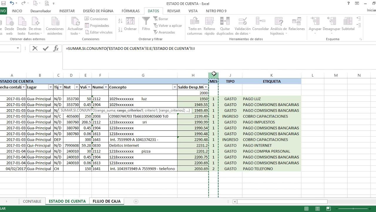 Ejemplo De Presupuesto De Efectivo De Una Empresa