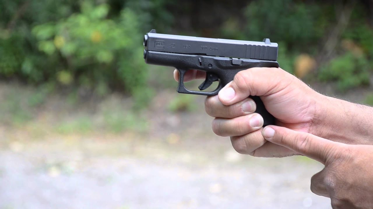 How to shoot small guns, Glock 42 & more, a Street Cop's ...