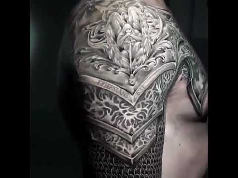 Armor Tattoo 3d armor tattoo - youtube