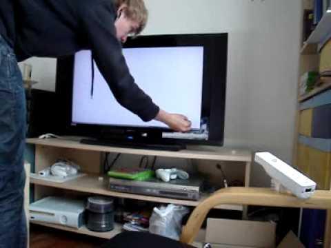 TV as Wiimote Whiteboard