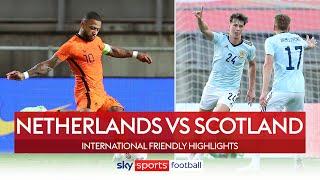 Late Depay free-kick denies Scotland warm up win! | Netherlands 2-2 Scotland | Highlights