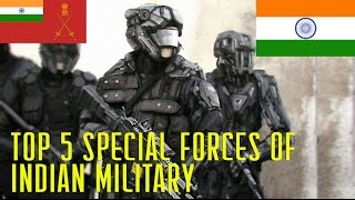 Top 5 Indian Military Secret Special Forces