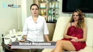 эпиляция сахарной пастой в домашних условиях видео
