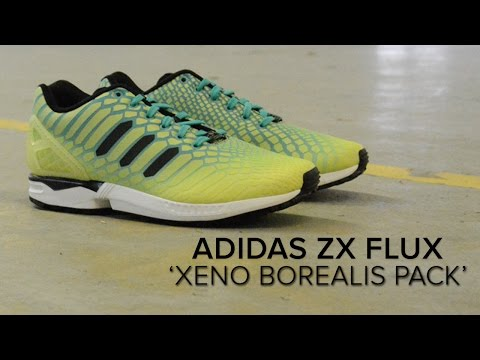 los angeles c2d26 c2757 adidas ZX Flux 'Borealis' Quick On Feet Review - YouTube
