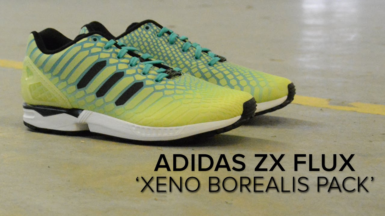 online retailer ee88d 88b52 adidas ZX Flux  Borealis  Quick On Feet Review - YouTube