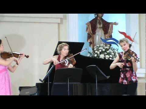 Jennifer Frautschi -Elina Vähälä-Nicole Divall -V Festival de Música Clásica (ParteII)