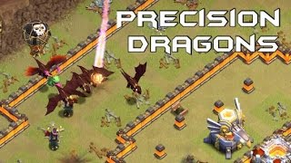 Precision Dragons - TH10 vs TH11 2-Star Attack Strategy