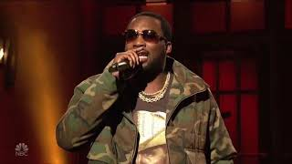"Meek Mill ""Champions"" SNL Live Performance"