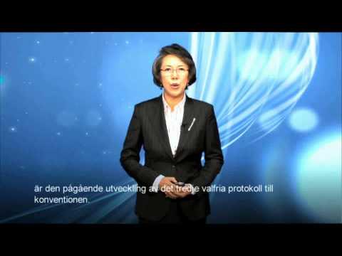 Professor Yanghee Lee speach on Article 12 at WCYF 2010